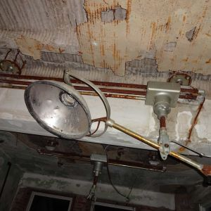 Old Medical Ceiling Light